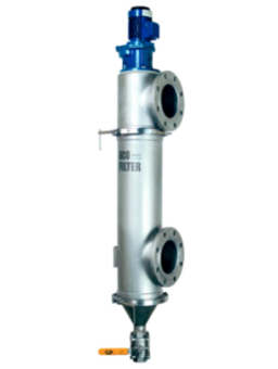 High flow filtration filter